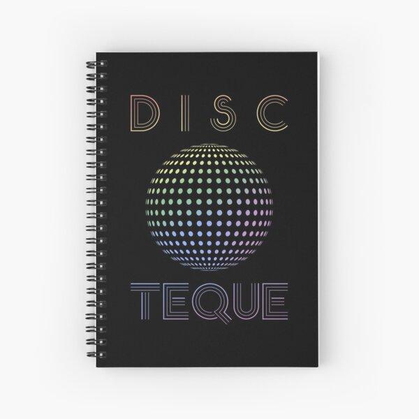 Eurovision 2021- Eurovision song contest -  ESC fans - Discoteque (pride colors) Spiral Notebook