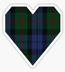 00381 Baird Clan/Family Tartan  Sticker