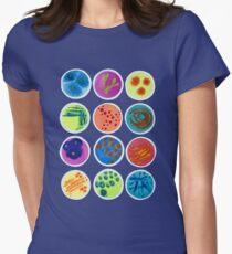 Petrischalen Tailliertes T-Shirt
