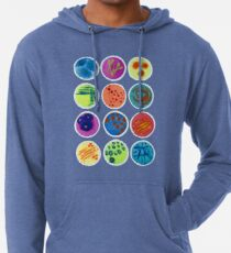 Petri Dishes  Lightweight Hoodie