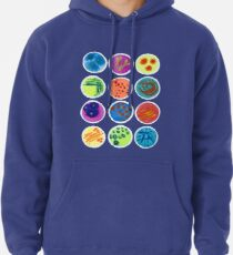 Petri Dishes  Pullover Hoodie