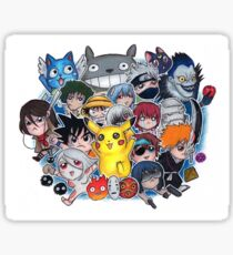 Team Anime Sticker