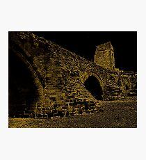 Ruins Of Exeter Bridge Photographic Print