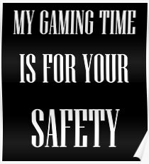 Let us game! Poster