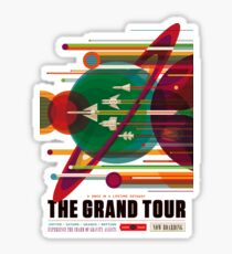NASA Poster - The Grand Tour Sticker