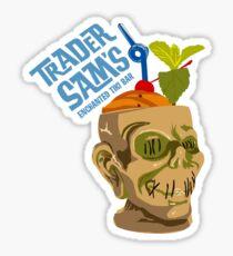 Tiki Bar Sticker