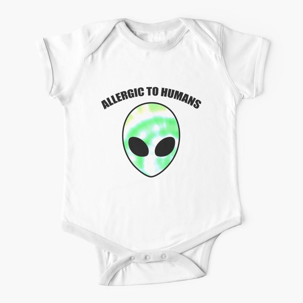 Allergiker für Menschen - Tie Dye Alien Print Baby Body
