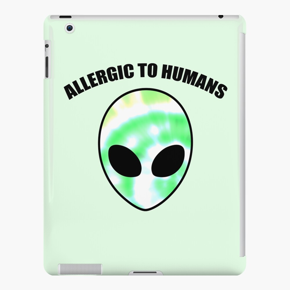 Allergiker für Menschen - Tie Dye Alien Print iPad-Hülle & Skin