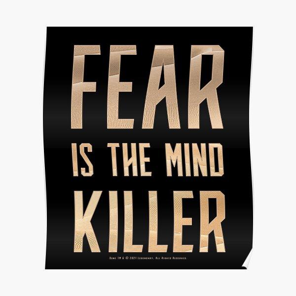 Dune - Fear is the mind-killer (Light) - Poster