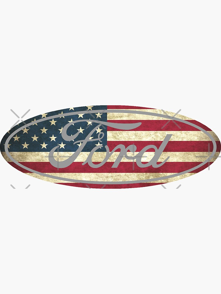 Ford American Flag by Robjohnsilvers