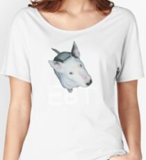English Bull Terrier  Women's Relaxed Fit T-Shirt