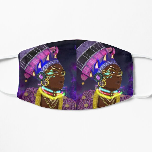 Futures in History Flat Mask