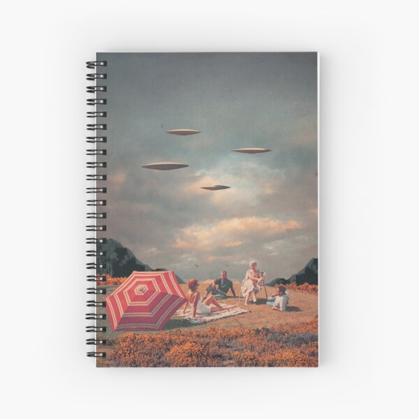 Pretend They Never Came Spiral Notebook