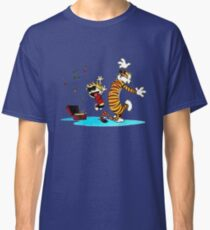 Calvin and Hobbes Music  Classic T-Shirt