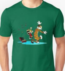 Calvin and Hobbes Music  Unisex T-Shirt