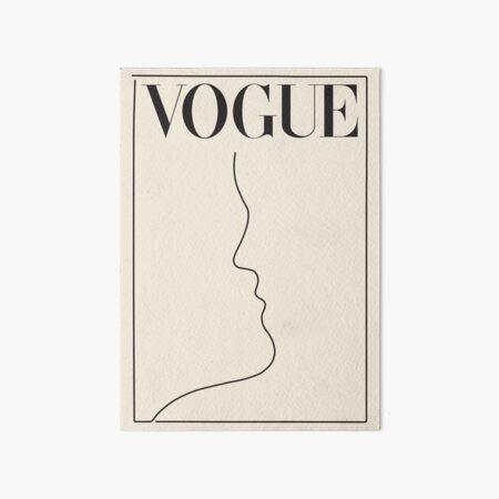 minimal vintage vogue Art Board Print