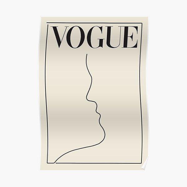 minimale Vintage Mode Poster