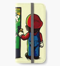 Mario's 1 up auto seller iPhone Wallet/Case/Skin