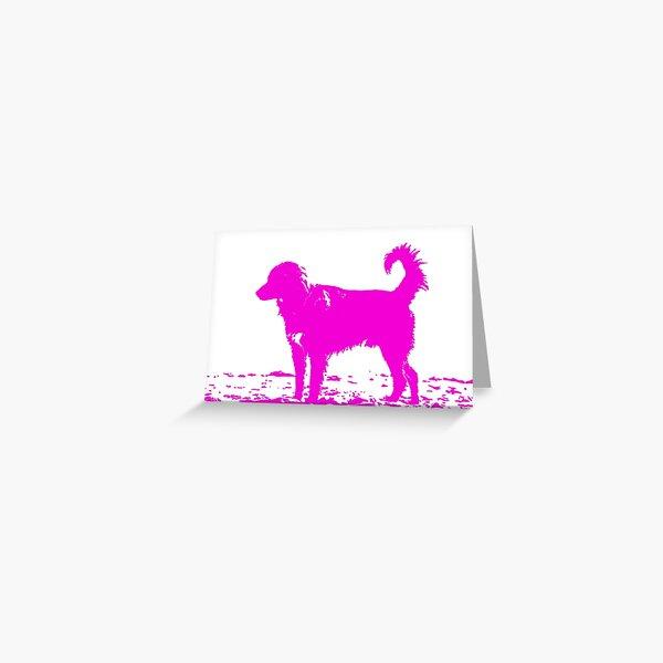Pop dog Greeting Card