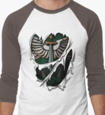 Dark Angels Armor Men's Baseball ¾ T-Shirt