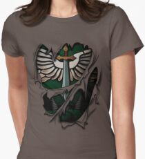 Dark Angels Armor Women's Fitted T-Shirt