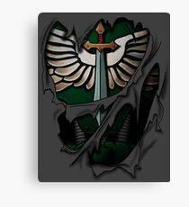 Dark Angels Rüstung Leinwanddruck