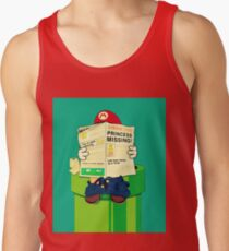 pooping Mario Tank Top