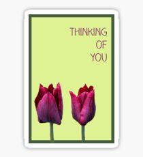 Thinking of you Sticker