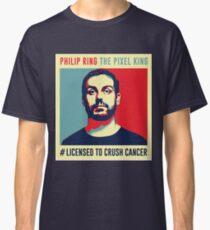 Phil Ring Pixel King Classic T-Shirt