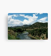 Water Valley Canvas Print