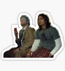 James & Seth Sticker