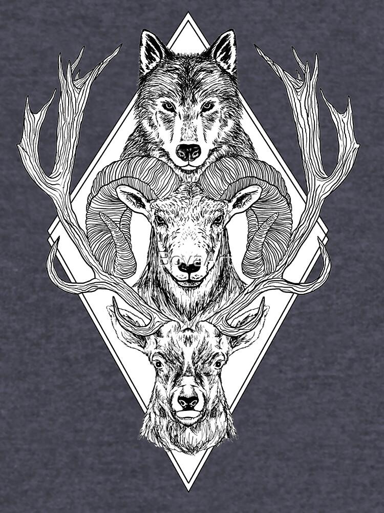 Wolf Ram Hart von BovaArt