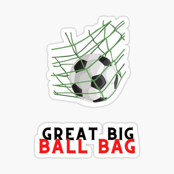 Great Big Ball Bag Sticker