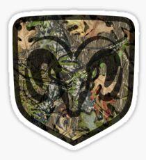 Ram Mossy Oak Sticker