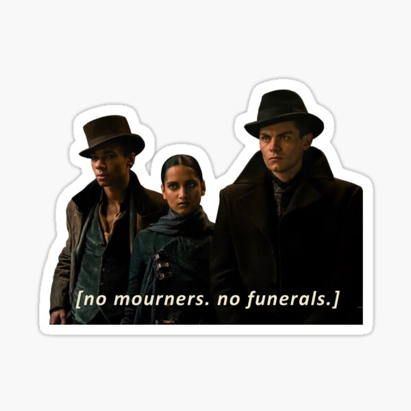 No Mourners No Funerals - The Crows Sticker