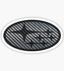 Subaru Carbon Fiber Sticker