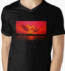 Earth Sunset Painting T-Shirt
