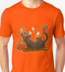 Playful Halloween Kitty T-Shirt