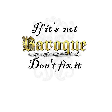 If it's not Baroque by VampicaX