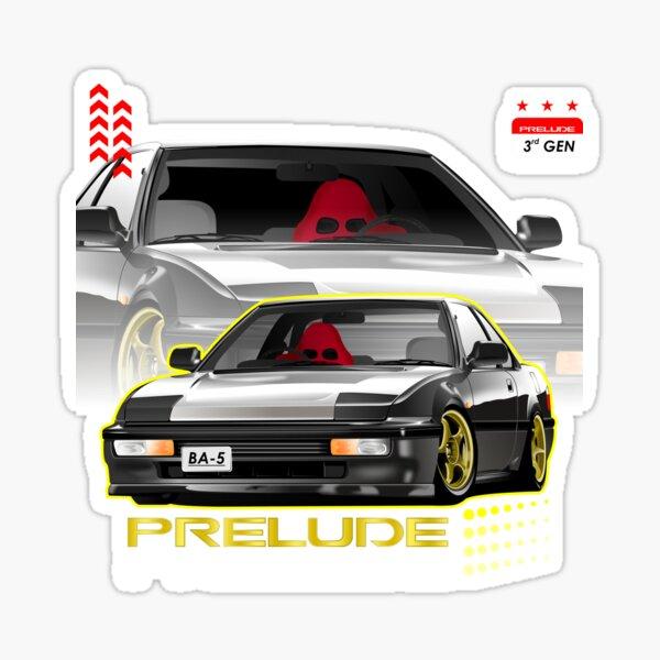 Honda Prelude 3. Gen. Sticker