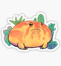 Succulent frog  Sticker