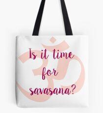 Savasana Tote Bag