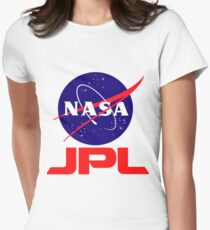 NASA & JPL Together Womens Fitted T-Shirt