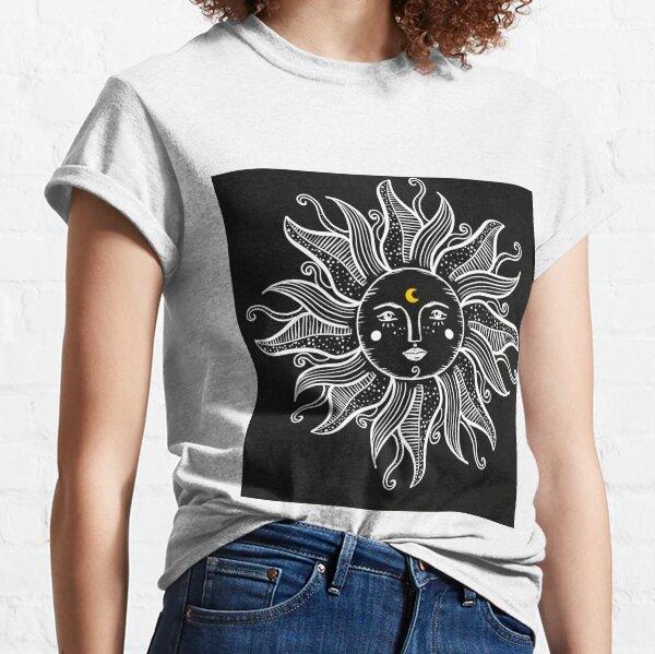 Vintage Sun With Sunshine  Classic T-Shirt