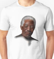 Freemonteir V1 - Morgan Freeman portrait Unisex T-Shirt