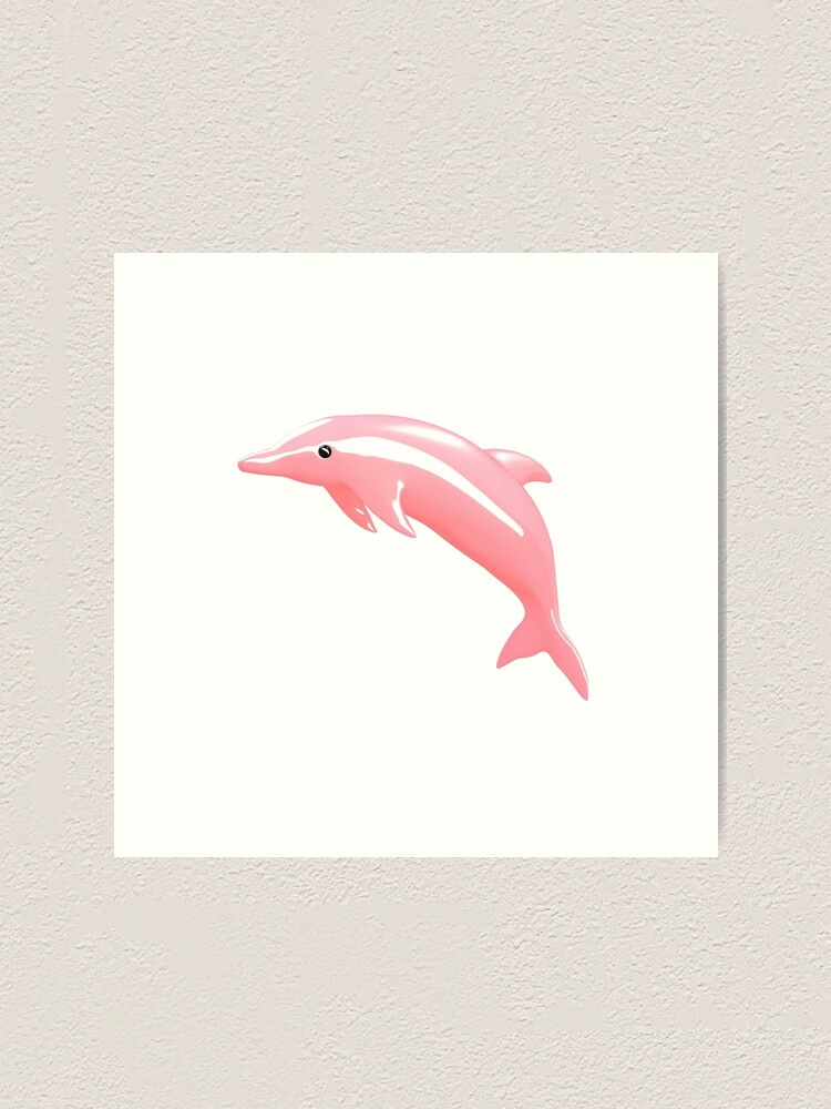 PROMO INDEPENDENCE Pink Dolphin Tee in White