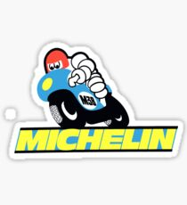 Vintage Michelin M38 Motorcycle Tire Sticker