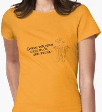 Garde ton rhum (inspiré par l'attraction Pirates de Caraïbes) Women's Fitted T-Shirt