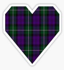 00437 Baillie Highland Society Tartan Sticker