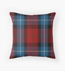 00441 Baillie of Polkemment Red Clan/Family Tartan Throw Pillow